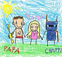 Chappie Family by BuckRogers