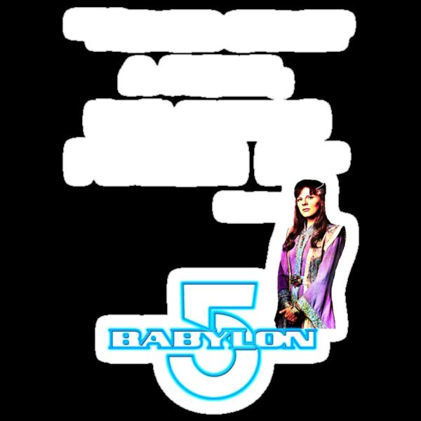 Babylon 5 - Never start a fight (for dark backgrounds) by sandnotoil