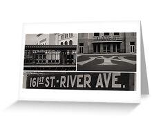 Yankees - Composite Print Greeting Card