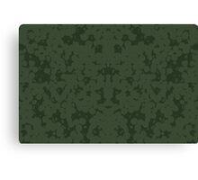 Moss Green Canvas Print