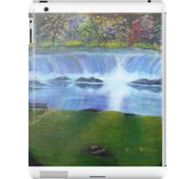 Waterfall Reflections iPad Case/Skin