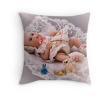 Katia 3 Throw Pillow