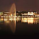 Hamburg At Night by 99gnome