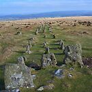 Dartmoor: Cosdon Stone Row by Rob Parsons