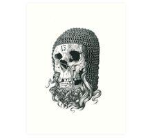 Templar Skull Art Print