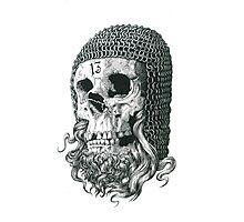 Templar Skull Photographic Print