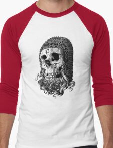 Templar Skull Men's Baseball ¾ T-Shirt