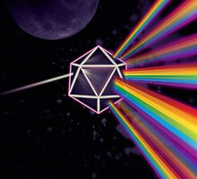Pink Floyd Dark Side of the Moon Dungeons & Dragons by Carl Huber