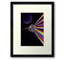 Pink Floyd Dark Side of the Moon Dungeons & Dragons Framed Print