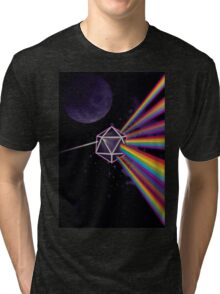 Pink Floyd Dark Side of the Moon Dungeons & Dragons Tri-blend T-Shirt