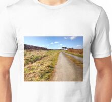 Sneaton back road, North Yorkshire Moors Unisex T-Shirt