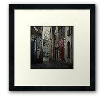 _ vieux quartier _ Framed Print