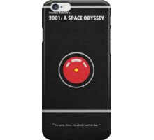 2001 A Space Odyssey iPhone Case/Skin