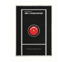 2001 A Space Odyssey Art Print