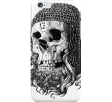 Templar Skull iPhone Case/Skin