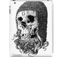 Templar Skull iPad Case/Skin