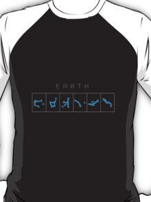 Earth chevron destination symbols T-Shirt