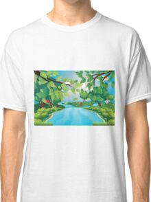 Hills and River Classic T-Shirt