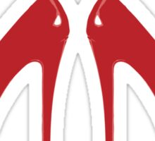 Red Heels Sticker
