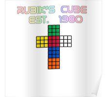 Rubik's Cube Est. 1980 Poster