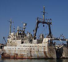 Abandoned ship by ShotByArlo