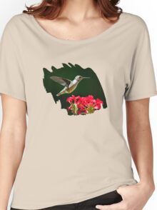Hovering Hummingbird Women's Relaxed Fit T-Shirt