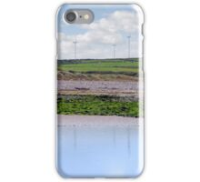 windmill reflections on beal beach iPhone Case/Skin