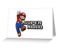 Super Mario Greeting Card