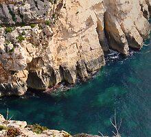 Wied iz-Zurrieq - Blue Grotto entrance by Elvio Spiteri
