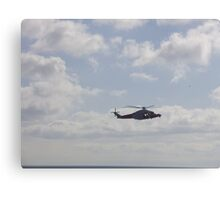 coastguard helicopter Canvas Print