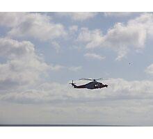 coastguard helicopter Photographic Print