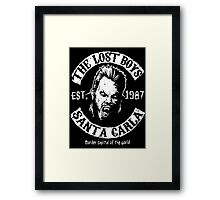 The Lost Boys Motorcycle Club Framed Print