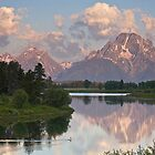 Teton Morning by Robert Yone