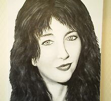 Kate Bush  by dazzbarwise