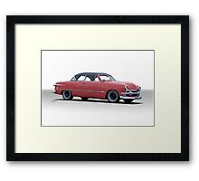 1951 Ford Victoria Framed Print