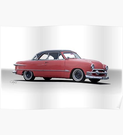 1951 Ford Victoria Poster