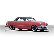 1951 Ford Victoria Photographic Print
