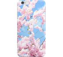 Blooming cherry tree - flower / floral design iPhone Case/Skin