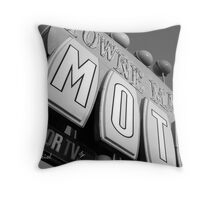Vintage Sign 4 Throw Pillow