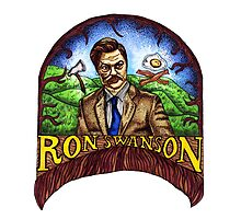 Ron Swanson by erinhopkins