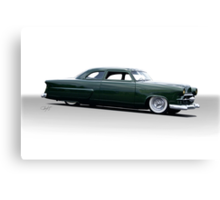 1952 Ford Custom Coupe Canvas Print