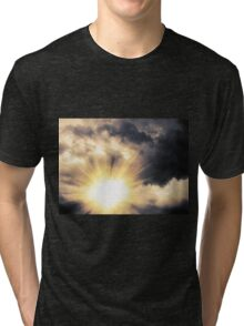 Light through Dramatic Sky Tri-blend T-Shirt