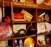 Memories In Little Boxes by Susan Bergstrom