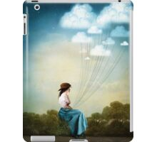 Blue Thoughts iPad Case/Skin