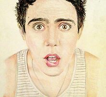 PointlessBlog / Alfie Deyes Drawing by JWArt