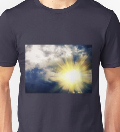 Light through Dramatic Sky 3 Unisex T-Shirt