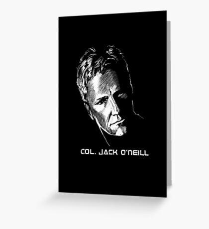 Jack O'Neil Stargate Greeting Card