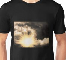 Angel in the Dark Sky Unisex T-Shirt