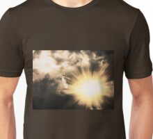 Angel in the Dark Sky 2 Unisex T-Shirt
