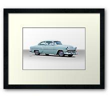 1954 Chevrolet 'Mild Custom' Coupe Framed Print